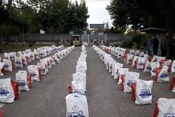 تهیه و توزیع  ۴۵ هزار بسته کمک مؤمنانه برای آسیب دیدگان از کرونا