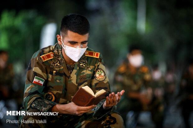 احیای شب بیست و سوم ماه مبارک رمضان در دانشگاه افسری امام علی (ع)