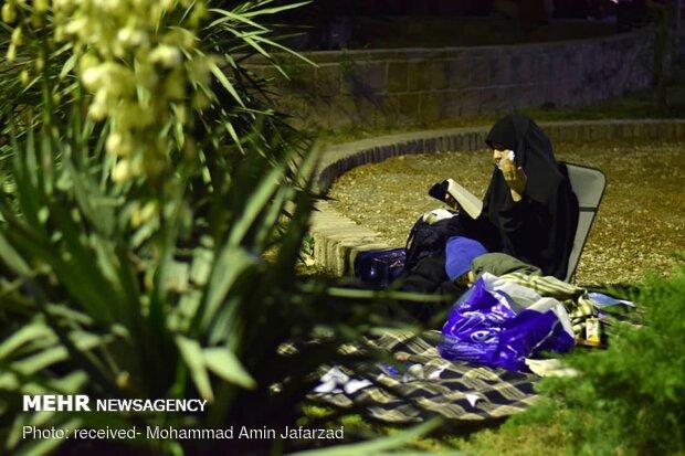 شب قدر در مسجد دانشگاه صنعتی شریف