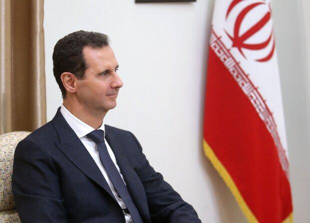 Iran reiterates support to al-Assad as Syria's legitimate leader