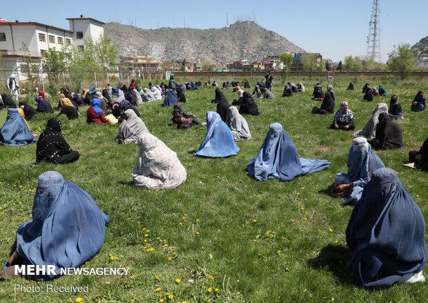 زندگی زیر سایه کرونا در افغانستان