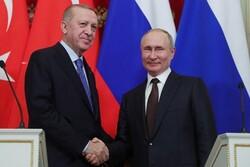 Erdoğan, Rusya lideri Putin'le görüştü