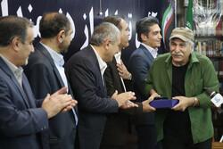 آیین تجلیل از عوامل سریال تلویزیونی «نون.خ»