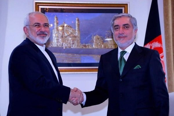 Abdullah thanks FM Zarif's support for political accord in Afghanistan