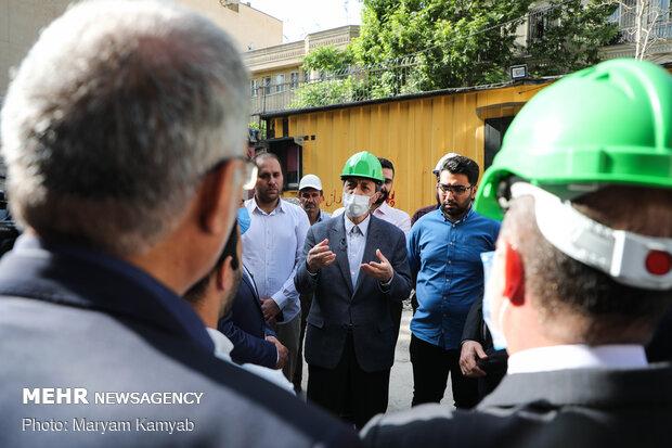 Mostazafan Foundation head visits Dafineh museum