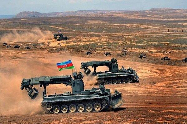 Azerbaycan ordusunun geniş kapsamlı tatbikatı başladı