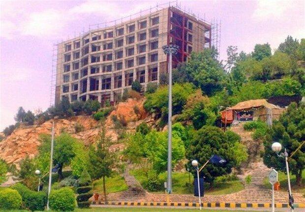 معطلی هتل «صخرهای» در کمیسیون ماده ۱۰۰