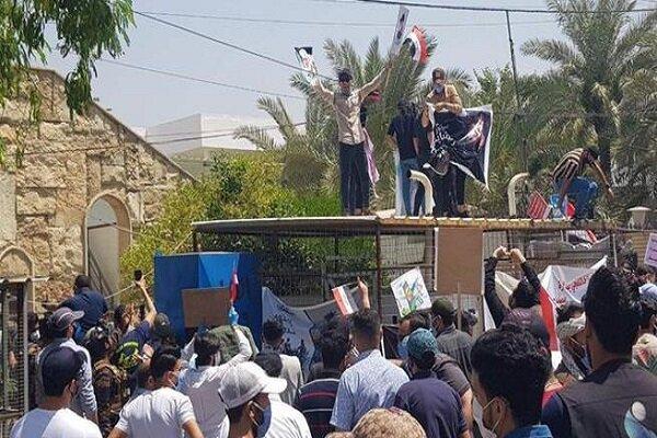 محتجون يقتحمون مقر قناة MBC في بغداد
