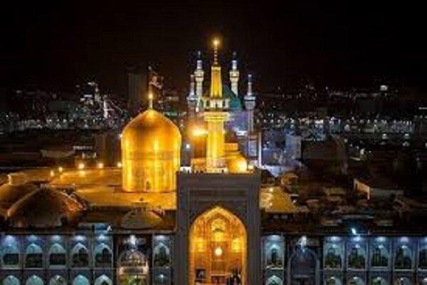 امام روؤف کی بارگاہ میں زائرین کا مخلصانہ درود و سلام
