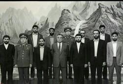 دیدار نظامی شهید طهرانی مقدم با کیم ایل سونگ رهبر کره شمالی