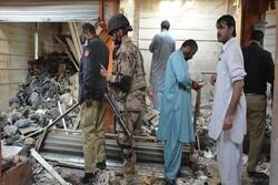 انفجار بمب در پاکستان/ ۷ نفر کشته شدند