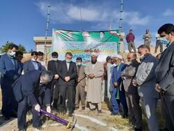 عملیات اجرایی ۵۵۰واحد مسکونی طرح مسکن محرومان در مراوه تپه آغازشد