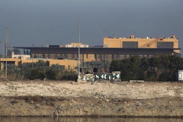 Bağdat'ta ABD Büyükelçiliğinin bulunduğu bölgeye saldırı!