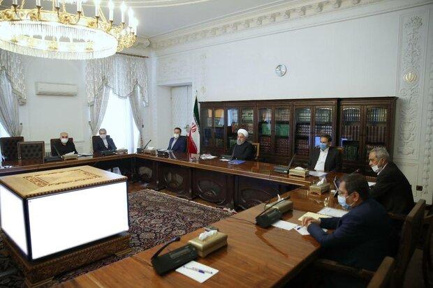 روحاني يترأس اجتماع لجنة التنسيق الاقتصادي