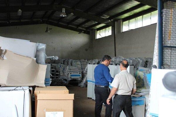 بیش از ۵۵۰ قلم انواع تجهیزات پزشکی در گیلان توزیع شد