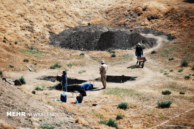 Archaeological excavations of Hegmataneh