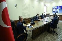 نشست وزرای خارجه ترکیه، آلمان، فرانسه و انگلیس درباره تحولات منطقه