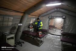 ظرفیت بیمارستان صحرایی در اصفهان به ۱۰۰ تخت میرسد