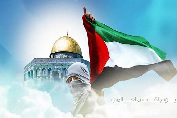 يوم القدس العالمي يشکل حزمة إستراتيجية هامة بالنسبة لقيادة الشعوب
