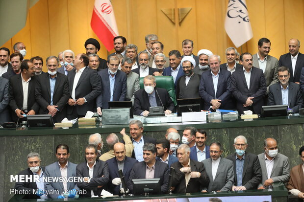Last open session of 10th Parliament held