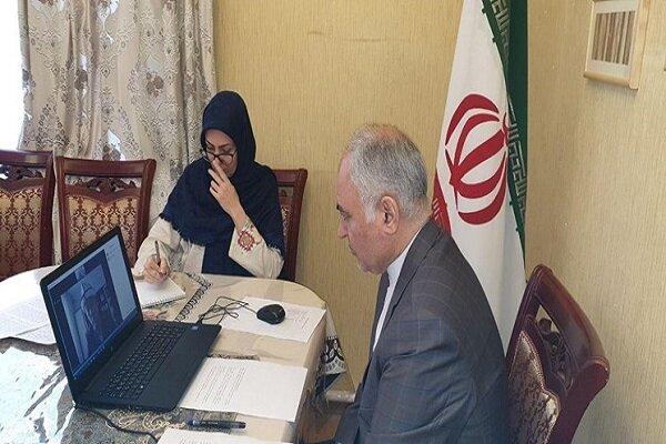Iran, Kyrgyzstan discuss Palestine issue