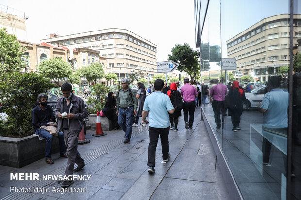 روزهای شلوغ تهران