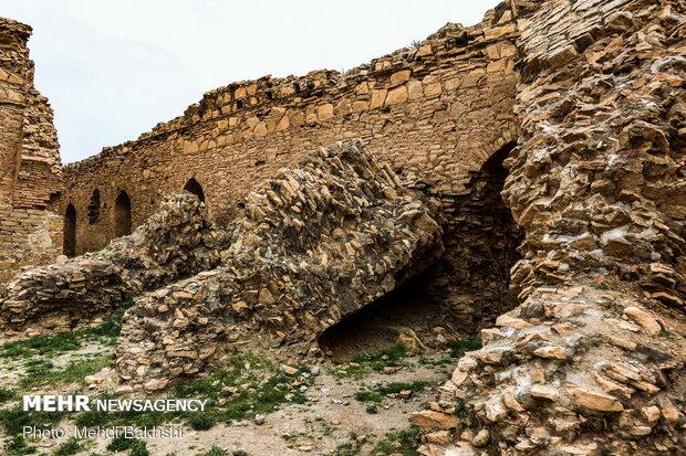 وضعیت بحرانی کاروانسرای تاریخی محمدآباد قم