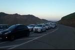 ترافیک در هراز و کندوان سنگین است