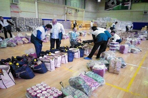 توزیع ۴۸ هزار بسته کمک معیشتی در بین نیازمندان مشهد