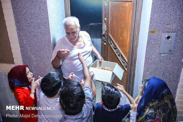 آیین «دوست، دوست، علی دوست» در یزد