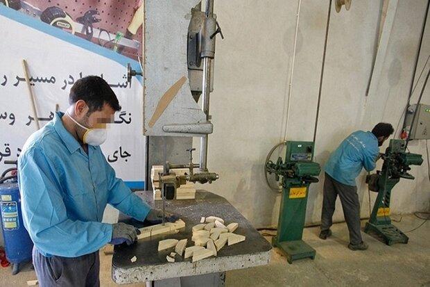 ۵۰۰ نفر از زندانیان در زنجان گواهی مهارت دریافت کردند