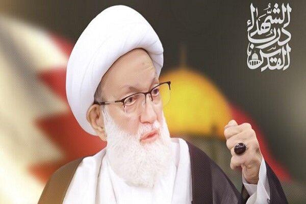 آية الله قاسم يوجّه خطاباً في الحفل المركزي لشعب البحرين بمناسبة يوم القدس العالمي