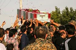 شہید محمد ابراہیم کاظمی کی تشییع جنازہ