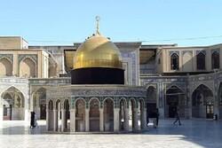 صحن قدس نماد آرمان فلسطین در حرم مطهر رضوی