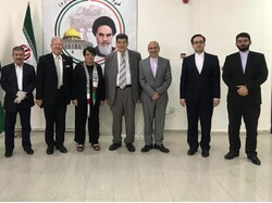 مراسم روز قدس به صورت مجازی در سفارت ایران در اردن برگزار شد