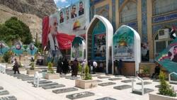 Kudüs Günü Şehit Korgenral Süleymani'nin mezarında böyle anıldı