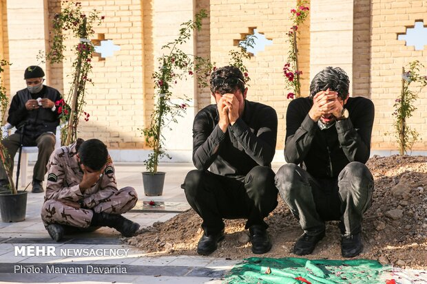 تشییع پیکر شهید «محمد ابراهیم کاظمی»