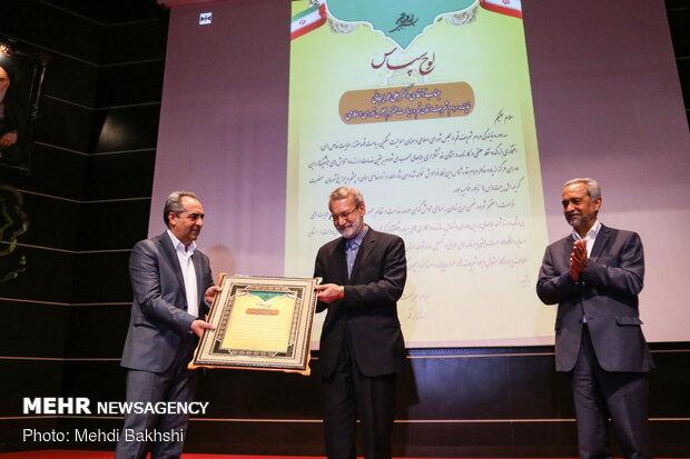 تقدیر از تلاش های علی لاریجانی در قم