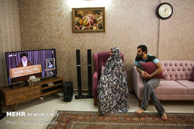 سخنان رهبر انقلاب با امت اسلامی در روز جهانی قدس
