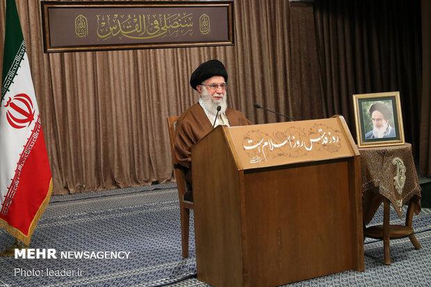 Leader's speech on Quds Day