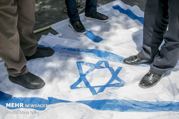 ایران واحد ملک ہے جس نے بڑے اسرائیل کے منصوبہ کا مقابلہ کیا