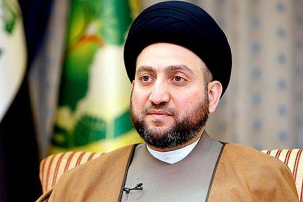 السيد عمار الحكيم يهنئ ایجئي بتعيينه رئيسا للسلطة القضائية