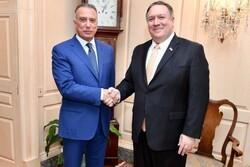 پمپئو با نخستوزیر جدید عراق تلفنی گفتوگو کرد