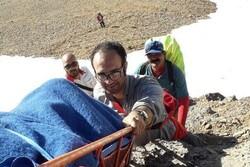 سقوط یک زن از ارتفاعات شاهوار/ تلاش ۱۲ ساعته برای نجات