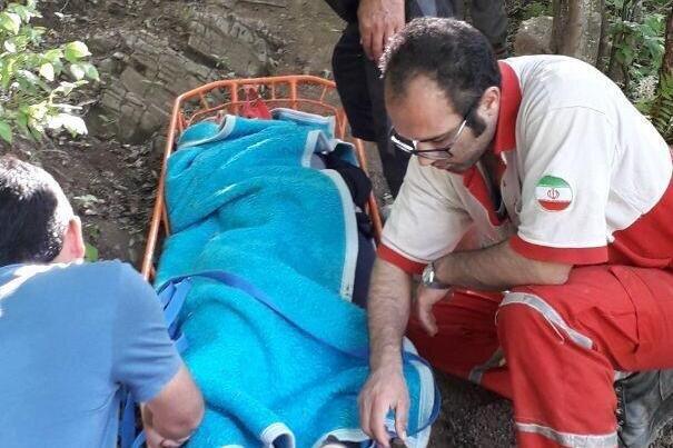 سقوط یک زن از ارتفاعات آلوچال جنگل ابر شاهرود/ مصدوم نجات یافت