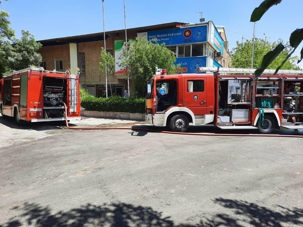 توضیح سخنگوی سازمان آتشنشانی درباره حریق در خانه کشتی