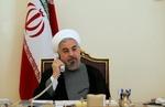روحاني يؤكد على ان الحوار والتفاوض هو الحل للأزمة اليمنية