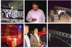 اعزام ۳ دستگاه اتوبوس برای جابجایی مسافران قطار همدان-مشهد