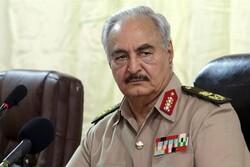 خلیفہ حفتر کا ترک صدر کو لیبیا سے دور رہنے کا انتباہ