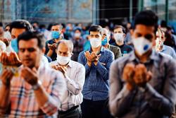 2020 Eid al-Fitr prayers in Iran's provinces (2)